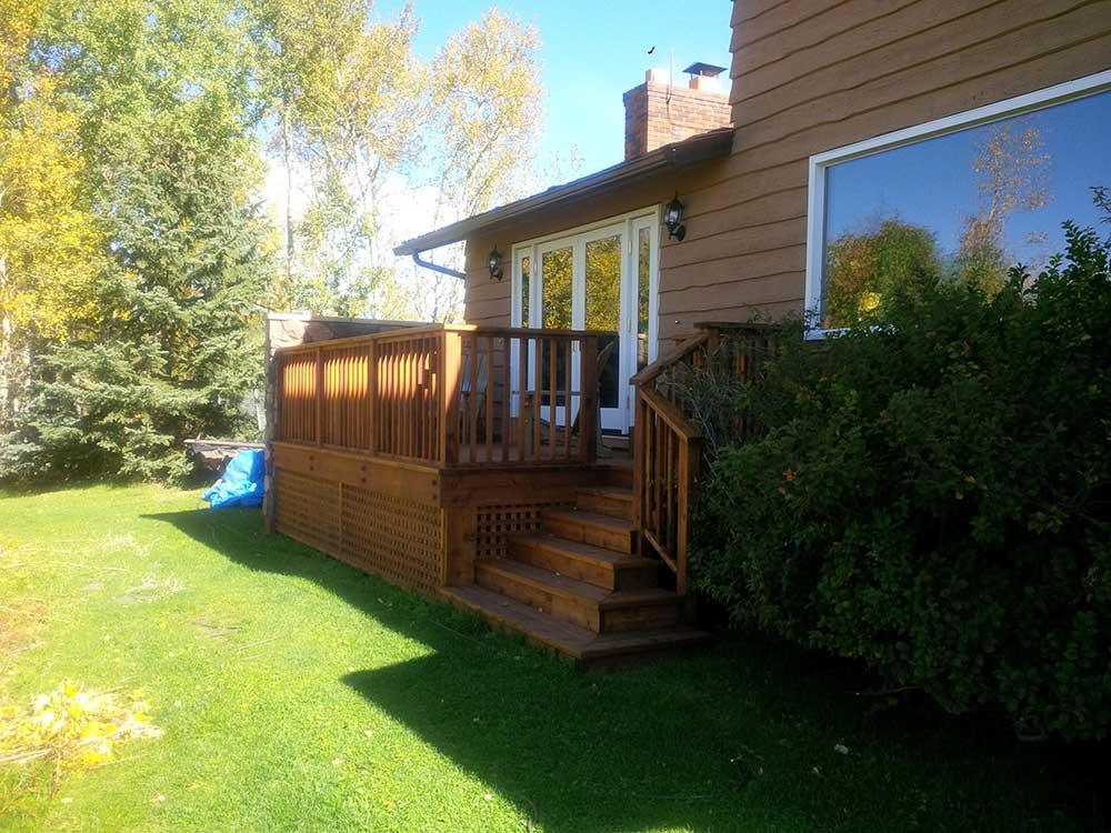 Exteriors decks home renovations experts Exterior home renovations calgary